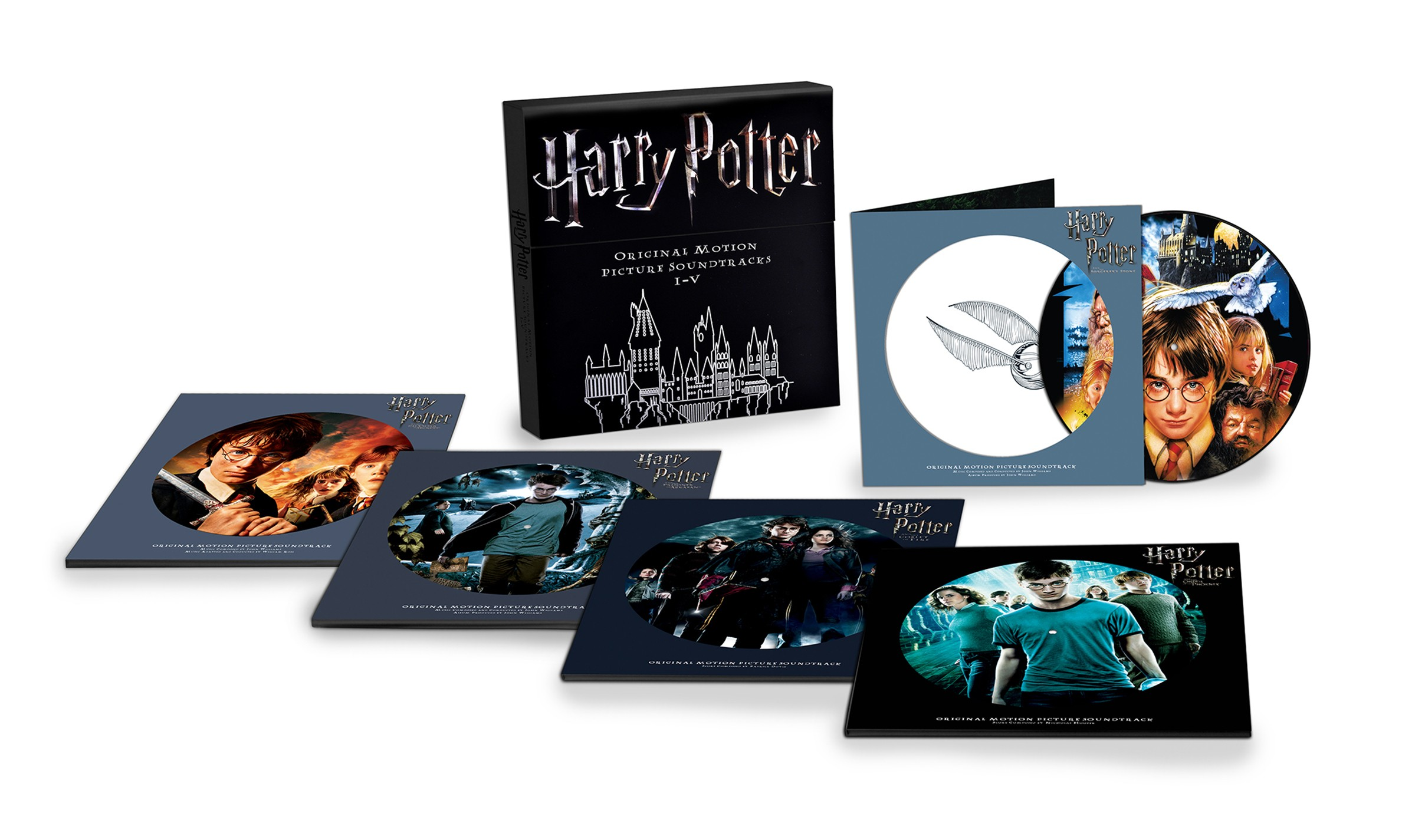 Soundtrack - Harry Potter: Original Motion Picture Soundtracks I-V Vinyl Boxset