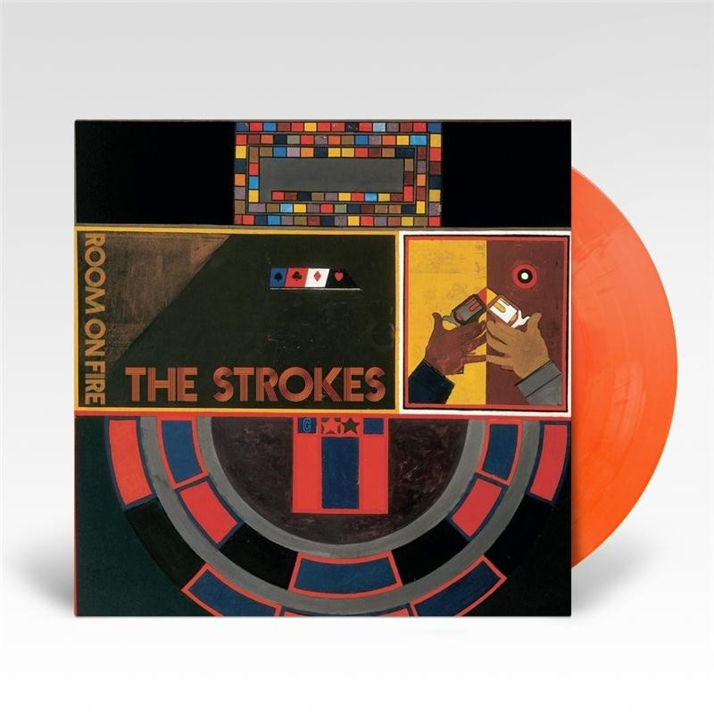 The Strokes - Room On Fire (Red/Yellow) Vinyl LP