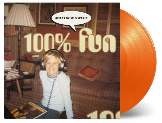 Matthew Sweet - 100% Fun (Orange) Vinyl LP