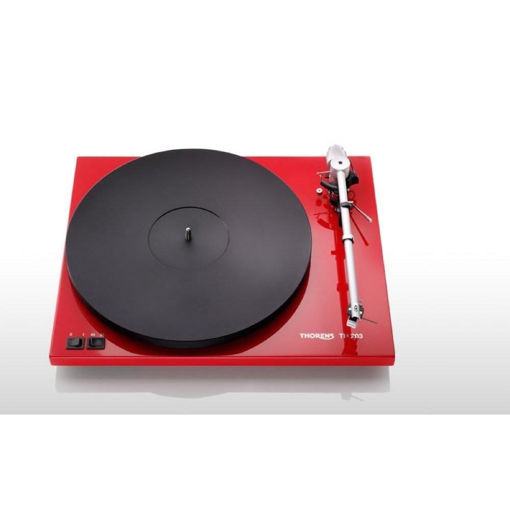 Thorens - TD 203HGR Turntable Red