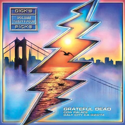 "The Grateful Dead - Dick's Picks Vol. 24"" (Cow Palace Daly City, Ca 3/ 23/ 74) 4XLP"