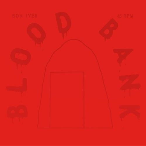 "Bon Iver - Bloodbank (10th Anniversary RED) 12"" EP Vinyl"