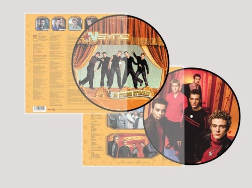 N Sync - No Strings Attached (Picture Disc) Vinyl LP
