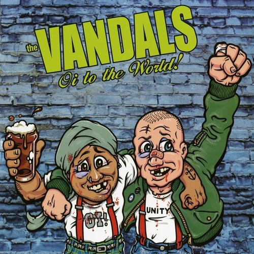 The Vandals - Oi To The World (Green) Vinyl LP