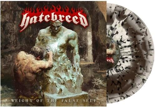 Hatebreed - Weight of the False Self (Bone Brown Swirl-Black Mint Green Splatter) Vinyl LP