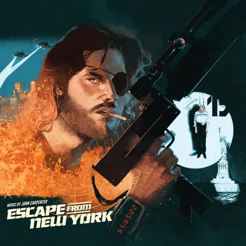 John Carpenter / Alan Howarth - Escape From New York (Expanded Original Score) 2XLP