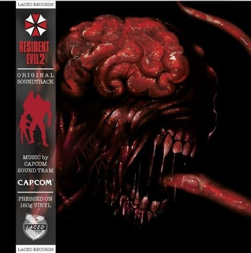 Capcom Sound Team - Resident Evil 2 (Original Soundtrack) 2XLP vinyl