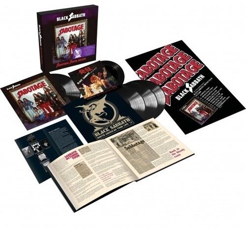 Black Sabbath - Sabotage (Super Deluxe Edition) 4XLP