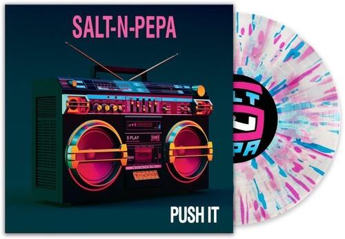 Salt-N-Pepa - Push It (Pink/Blue) Vinyl LP