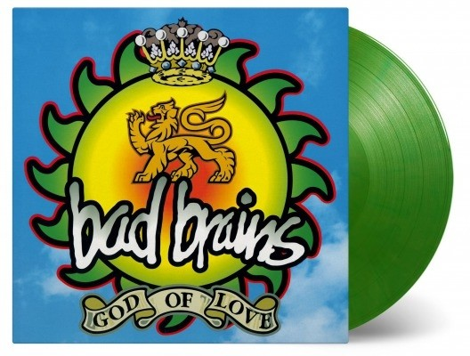 Bad Brains - God of Love (Green) Vinyl LP