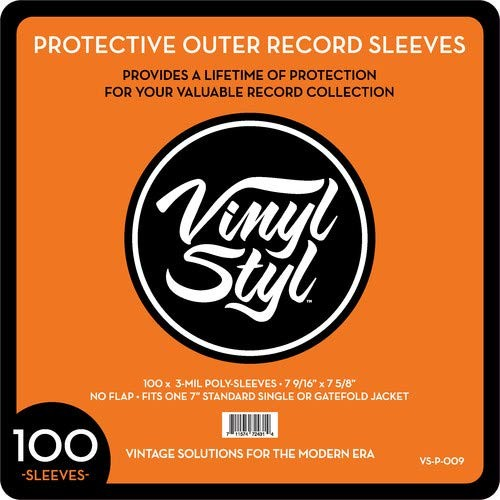 Vinyl Styl 3 Mil Outer Sleeves