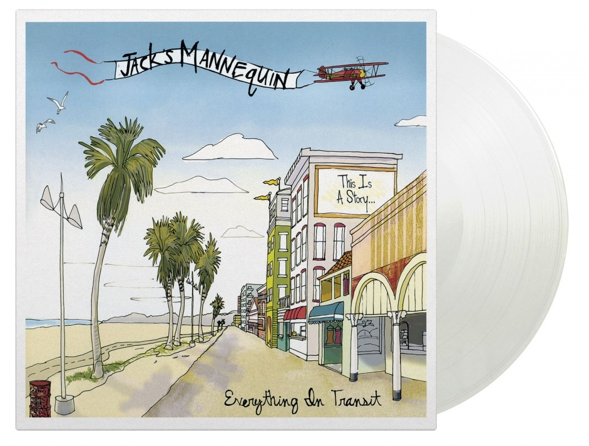 Jack's Mannequin - Everything In Transit (Clear) Vinyl LP