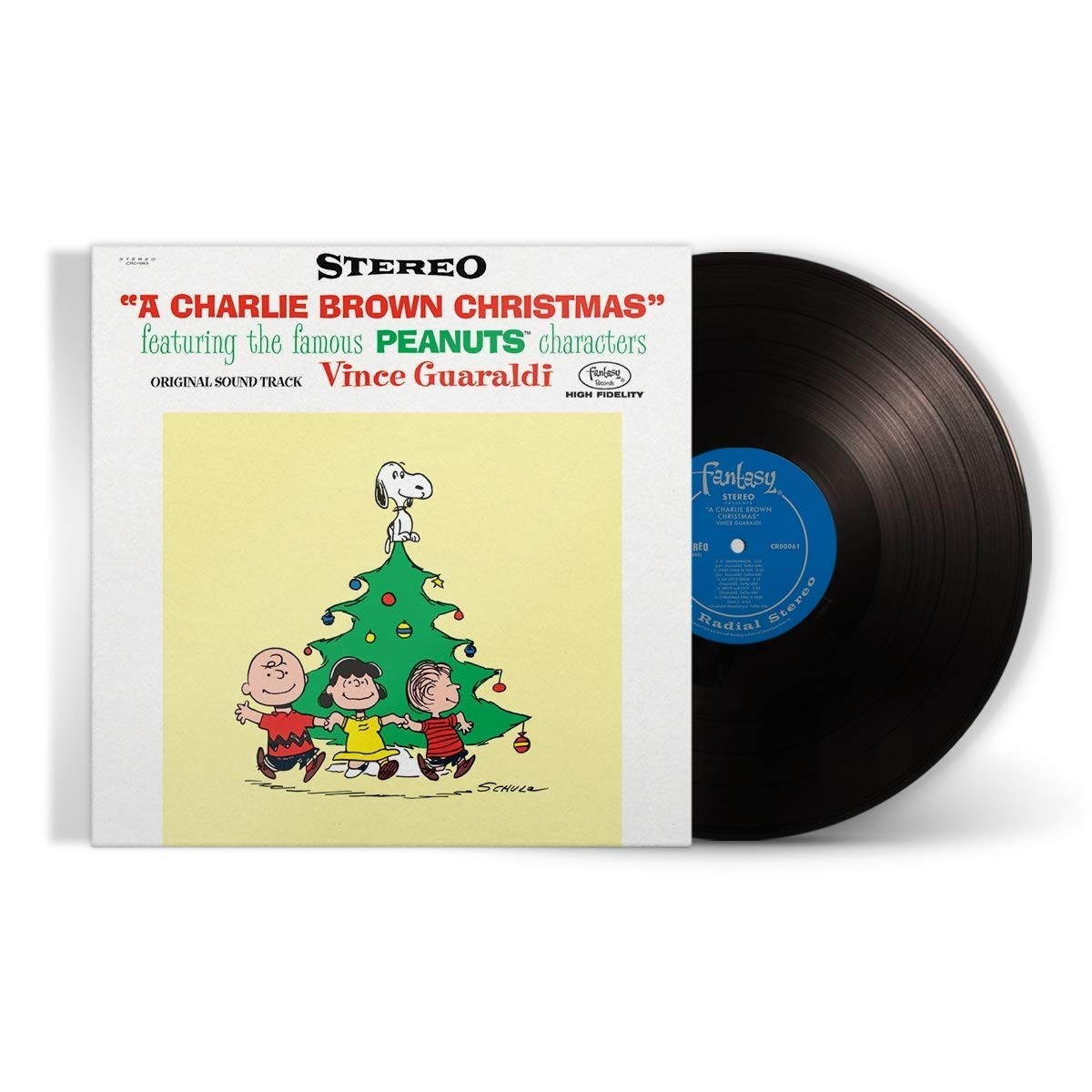 Vince Guaraldi - Charlie Brown Christmas (70th Anniversary Lenticular) Vinyl LP