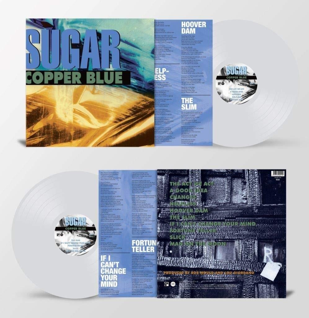 Sugar - Copper Blue (Clear) LP