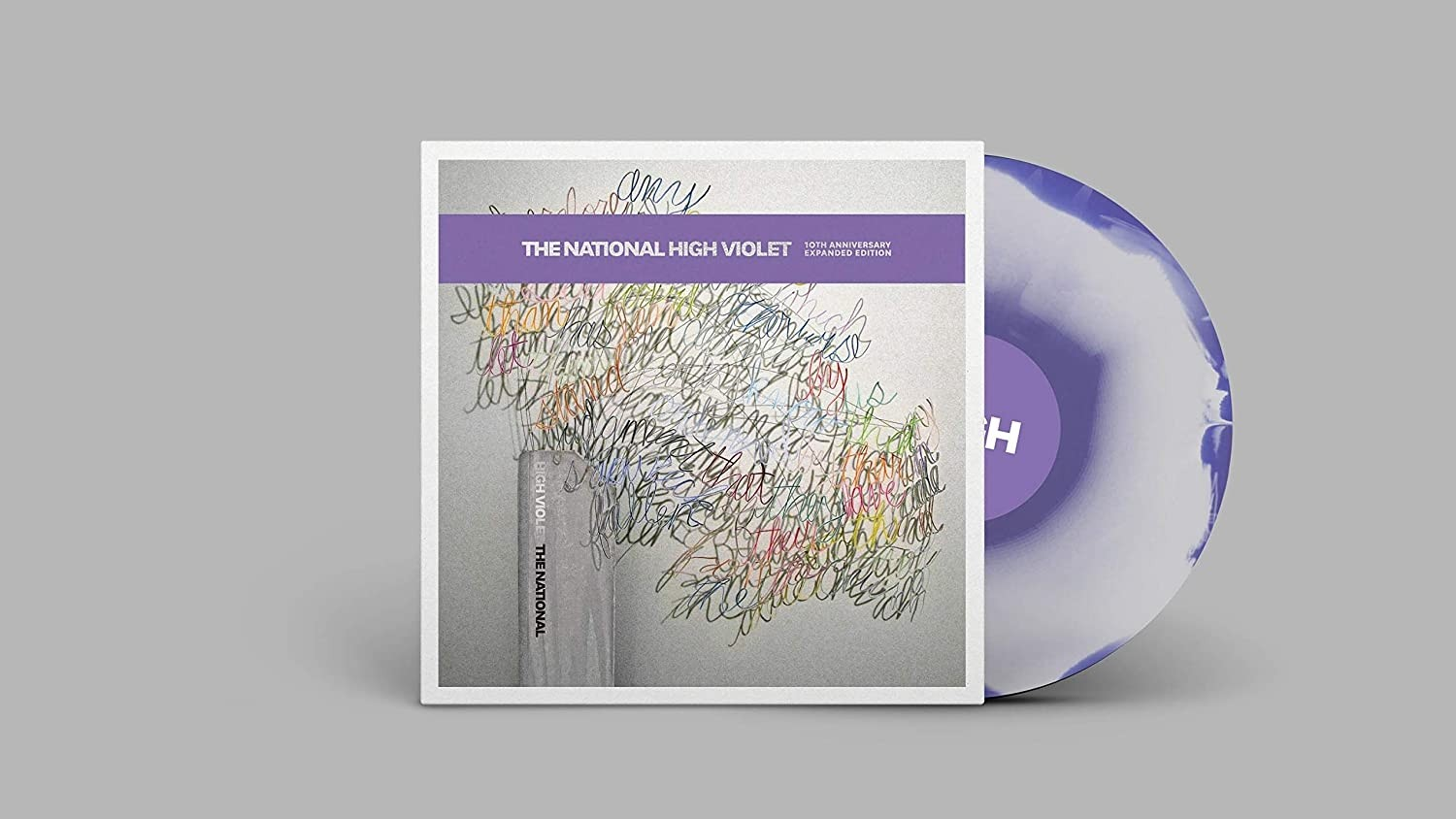The National - High Violet (Clear/Purple Marble) 3XLP Vinyl