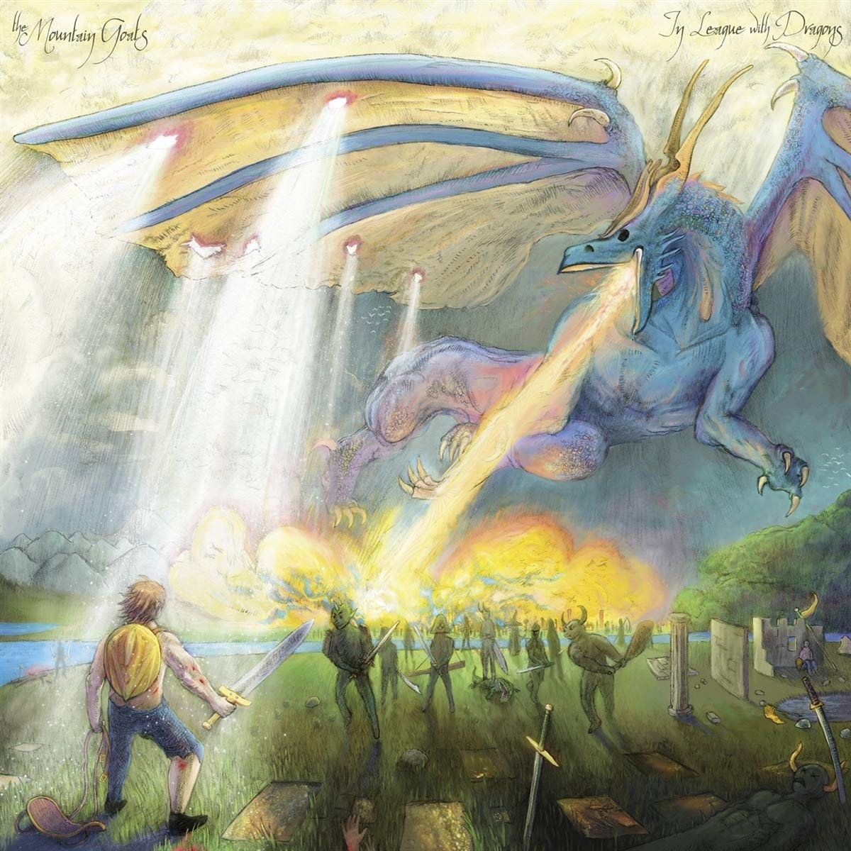 The Mountain Goats - In League With Dragons Vinyl LP