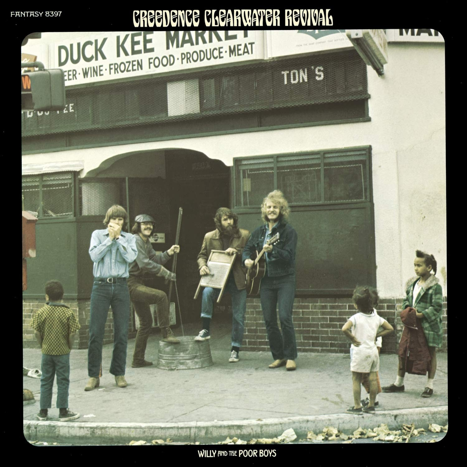 Creedence Clearwater Revival - Willy & Poor Boys (1/2 Speed Master) LP