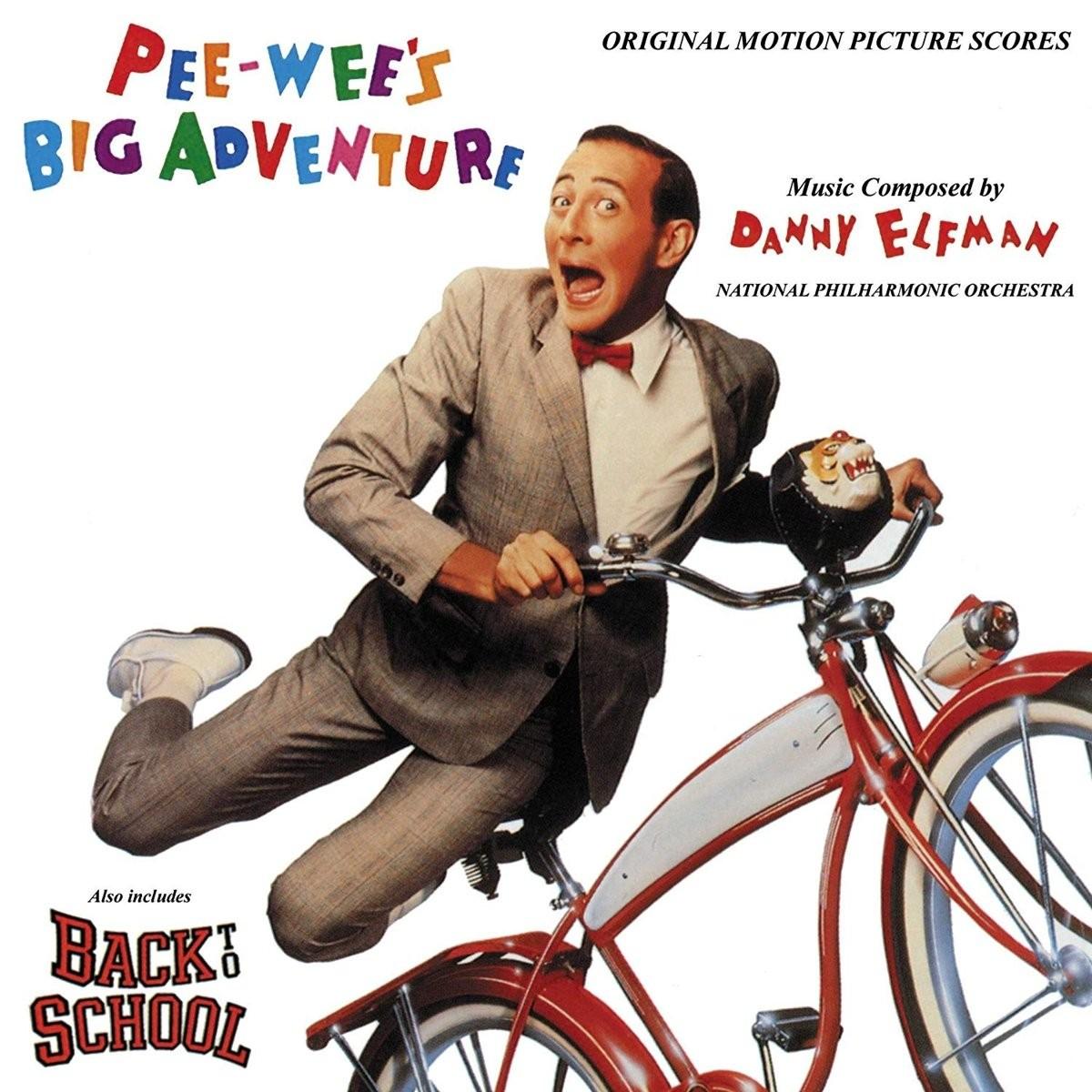 Danny Elfman - Pee-wee's Big Adventure / Back to School (Score) 2XLP vinyl