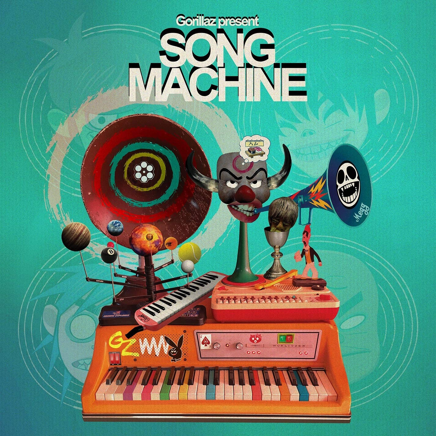 Gorillaz - Song Machine, Season One Vinyl LP