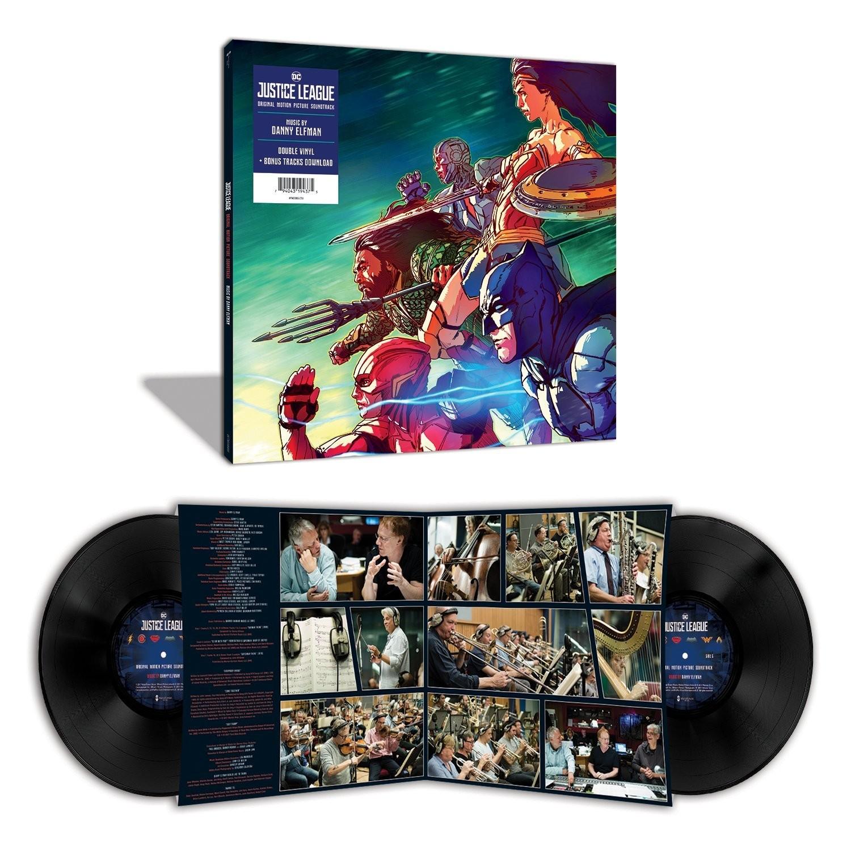 Danny Elfman - Justice League: Original Motion Picture Soundtrack Vinyl 2XLP