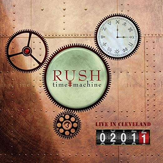 Rush - Time Machine 2011: Live In Cleveland 4XLP