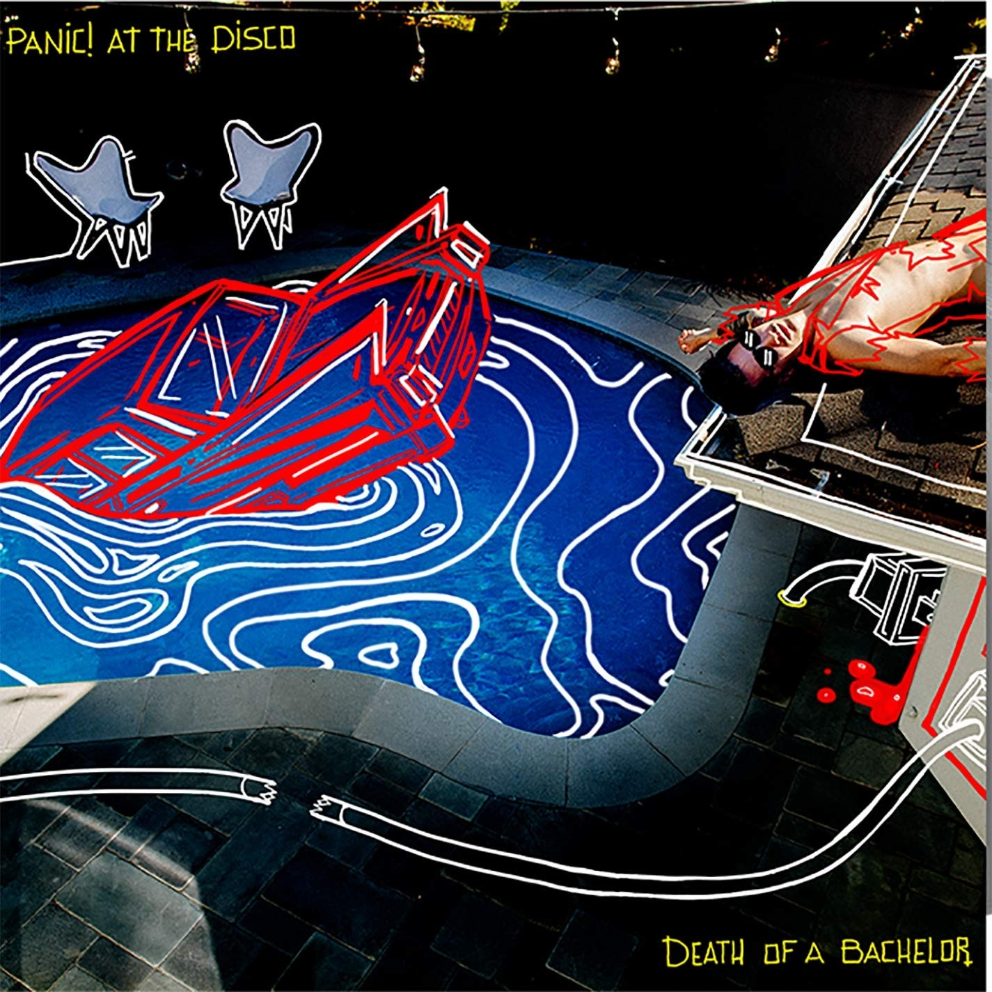 Panic! At the Disco - Death Of A Bachelor (Silver) Vinyl LP