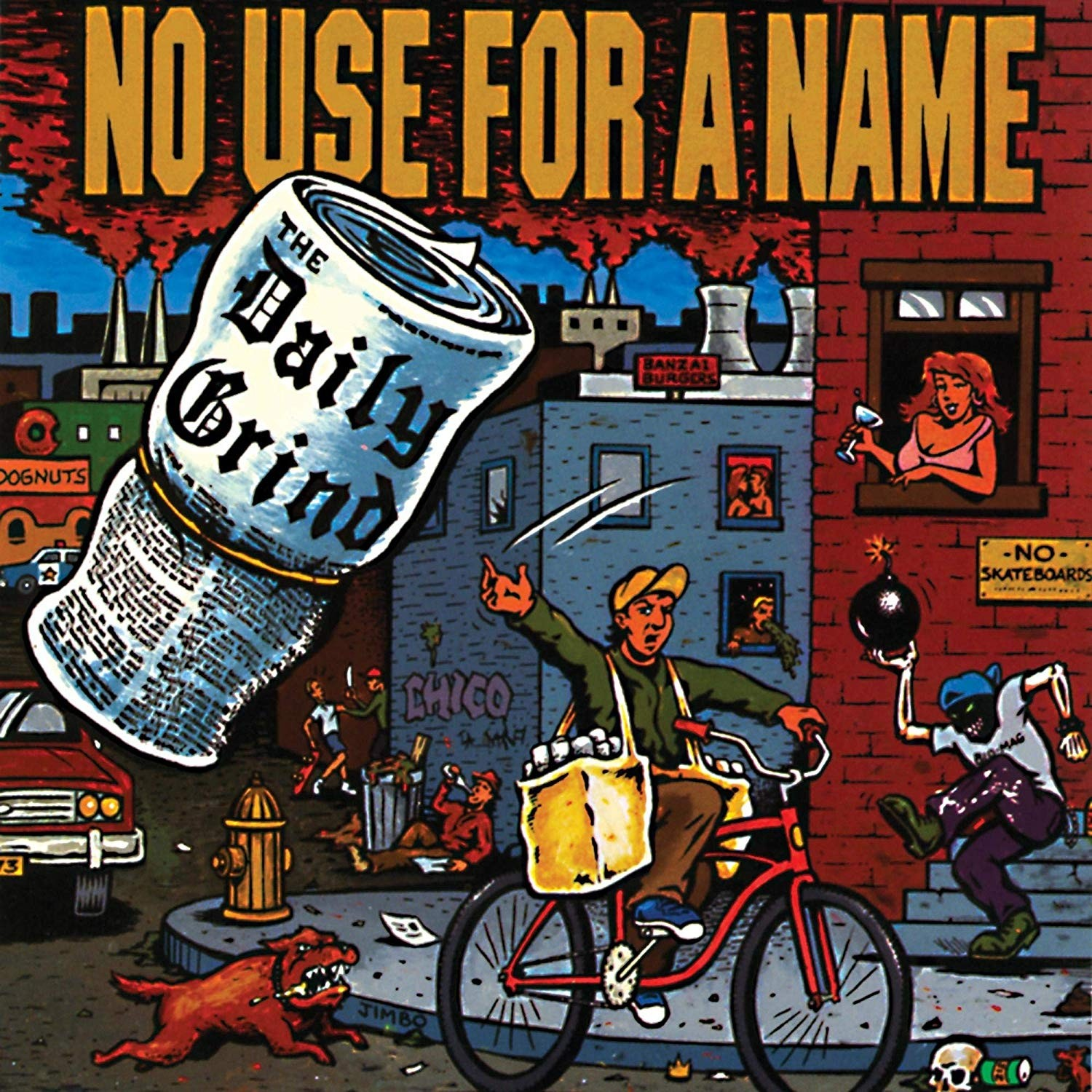 No Use for a Name - Daily Grind Vinyl LP