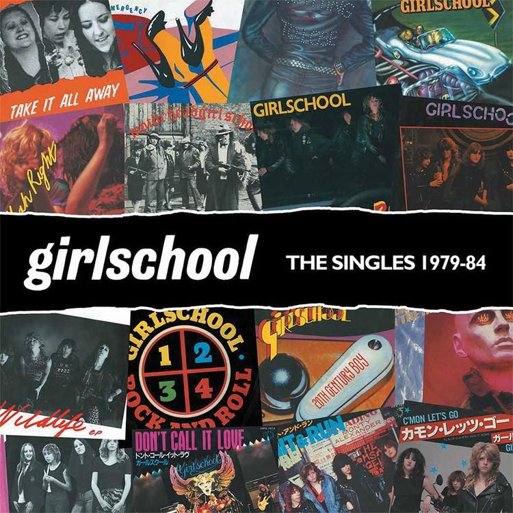 Girlschool - The Singles 1979-1984 (Orange) Vinyl LP