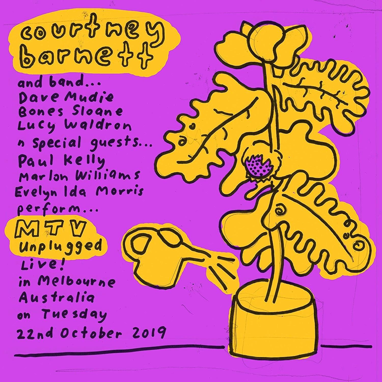 Courtney Barnett - Mtv Unplugged Live In Melbourne (Blue) Vinyl LP