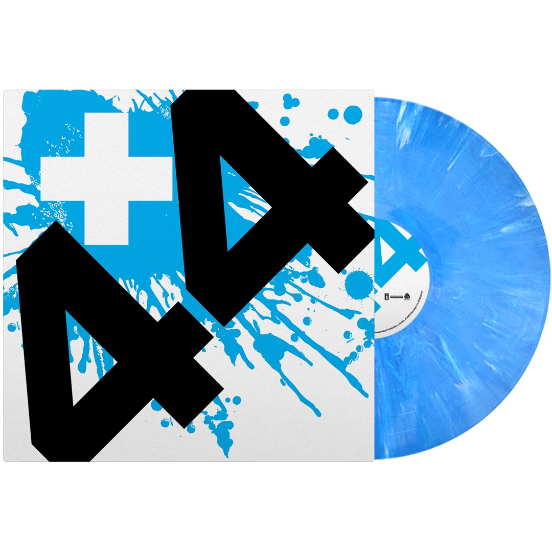+44 - When Your Heart Stops Beating (Blue) Vinyl LP