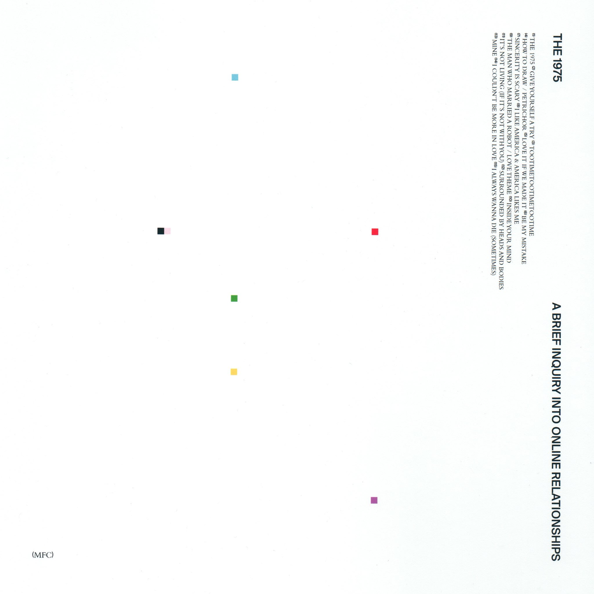 The 1975 - Brief Inquiry Into Online Relationships 2XLP Vinyl