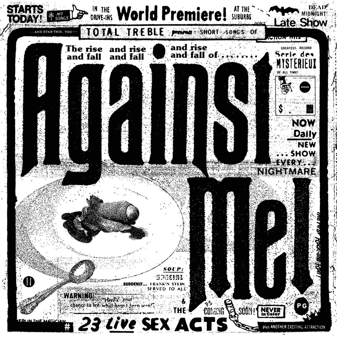 Against Me! - 23 Live Sex Acts 3XLP