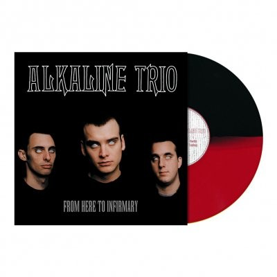 Alkaline Trio - From Here To Infirmary (Red/Black) Vinyl LP