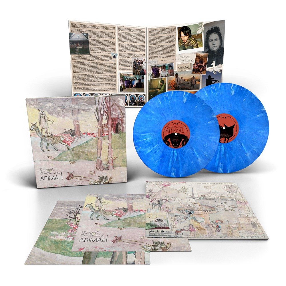 Margot & The Nuclear So And So's - Animal! 2XLP Vinyl