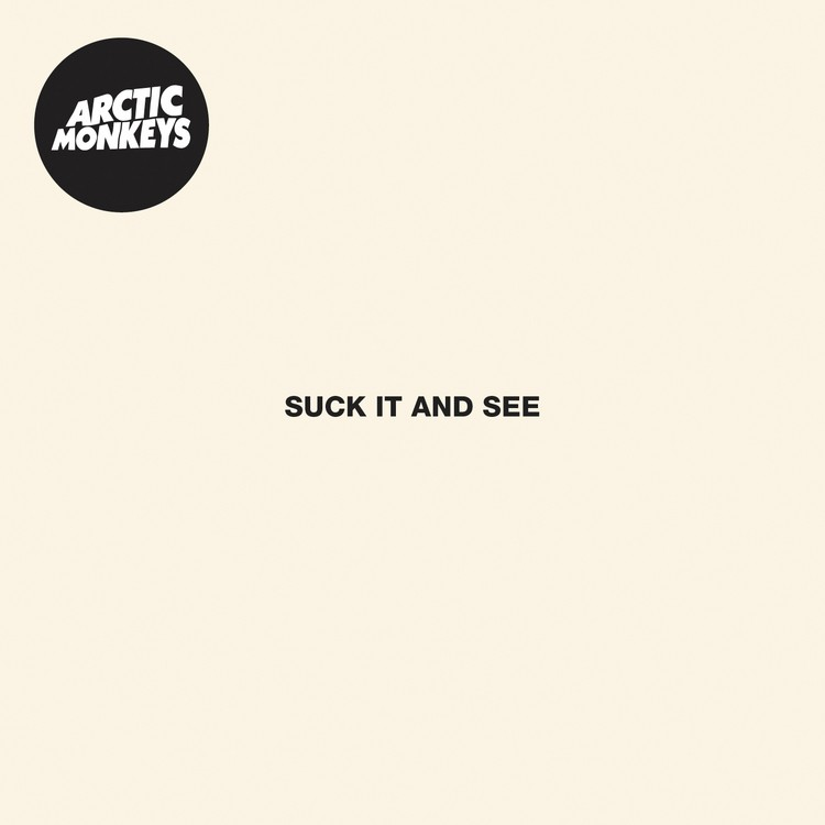 Arctic Monkeys - Suck It and See LP