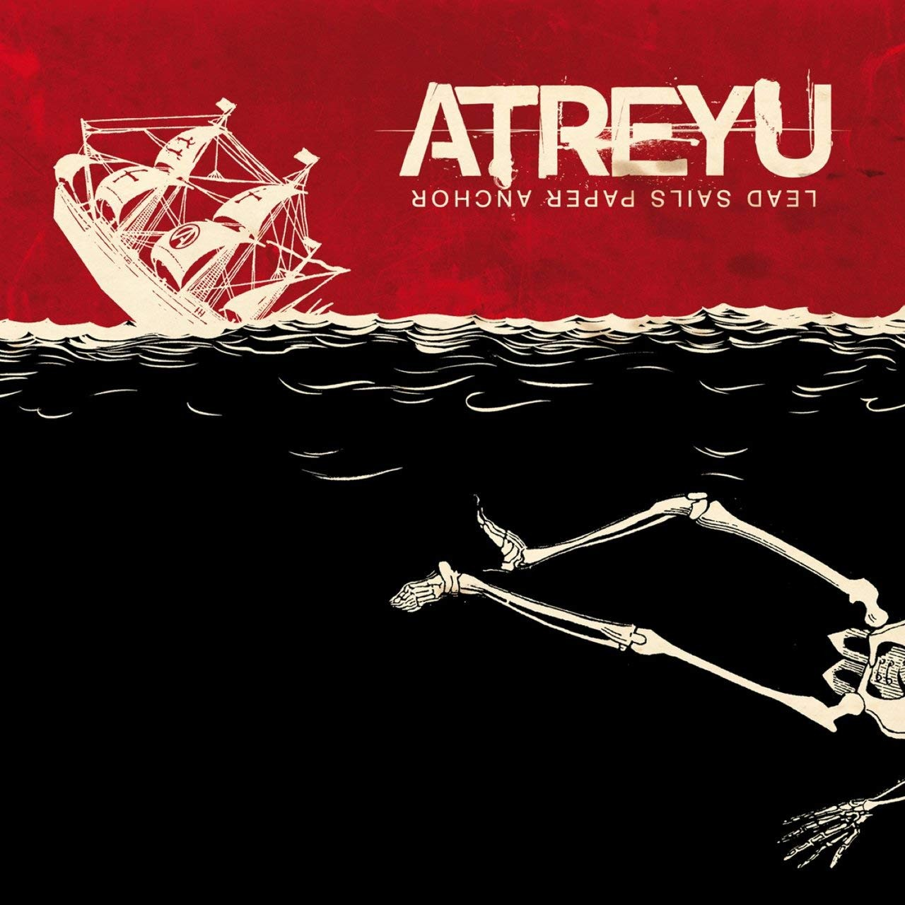 Atreyu - Lead Sails Paper Anchor (Colored) LP