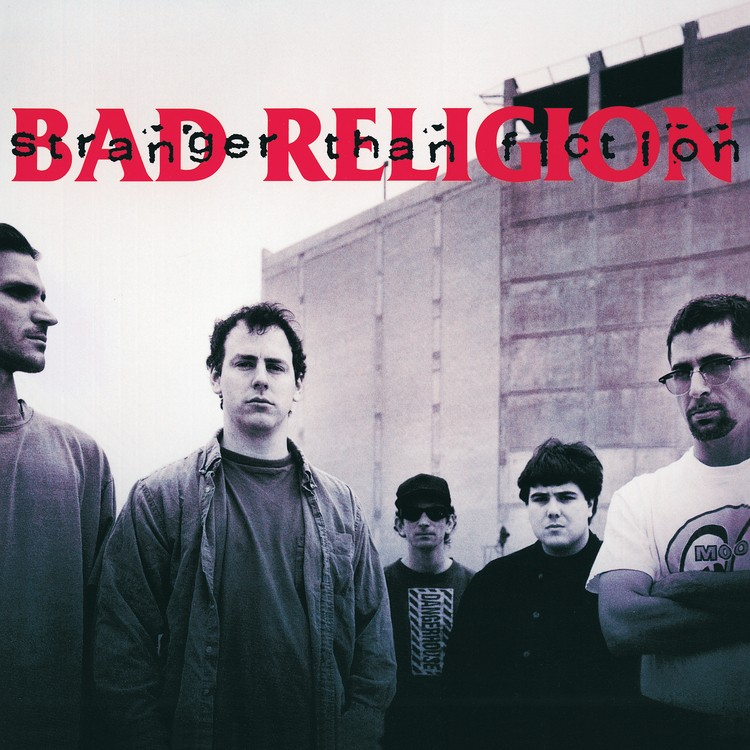 Bad Religion - Stranger Than Fiction (Remastered) (Grey) Vinyl LP