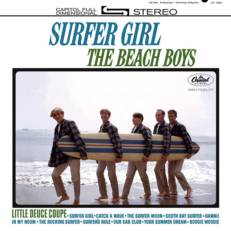 The Beach Boys - Surfer Girl 2XLP