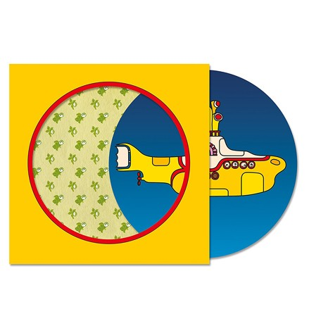 "The Beatles - Yellow Submarine (Picture Disc) 7"" vinyl"