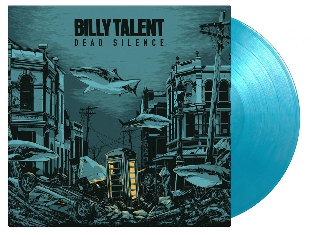 Billy Talent - Dead Silence ('Crystal Water' Blue) 2XLP Vinyl.
