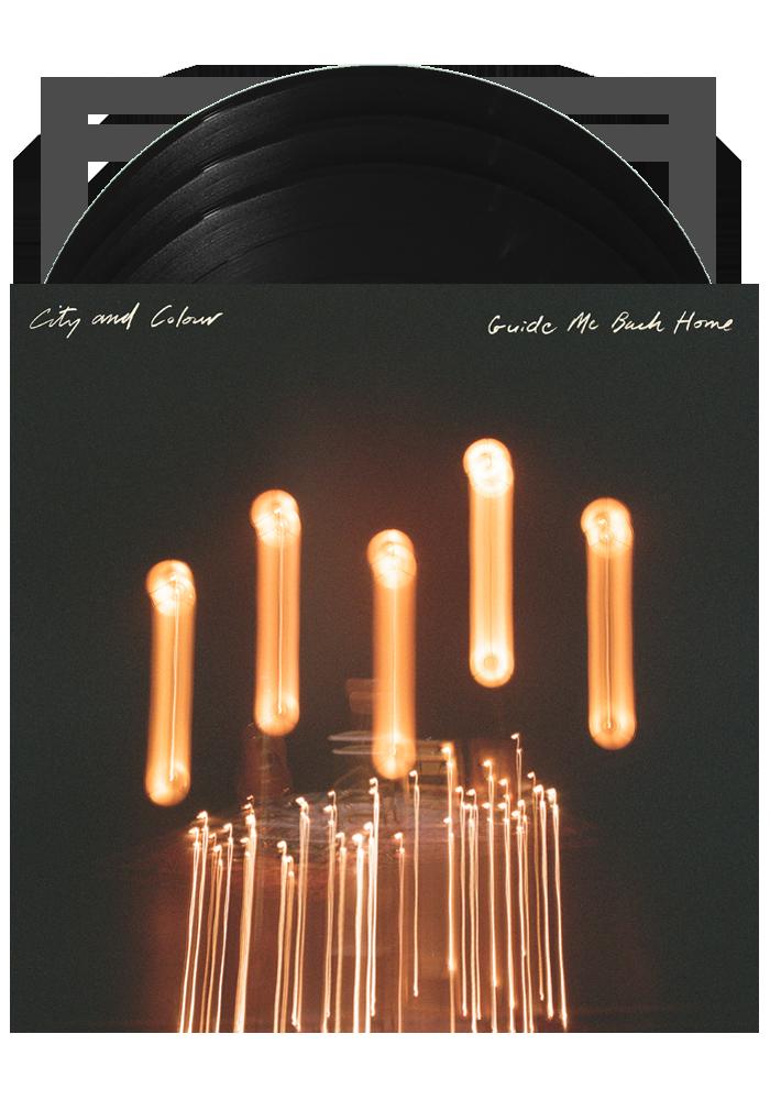 City & Colour - Guide Me Back Home (Black) 3XLP vinyl