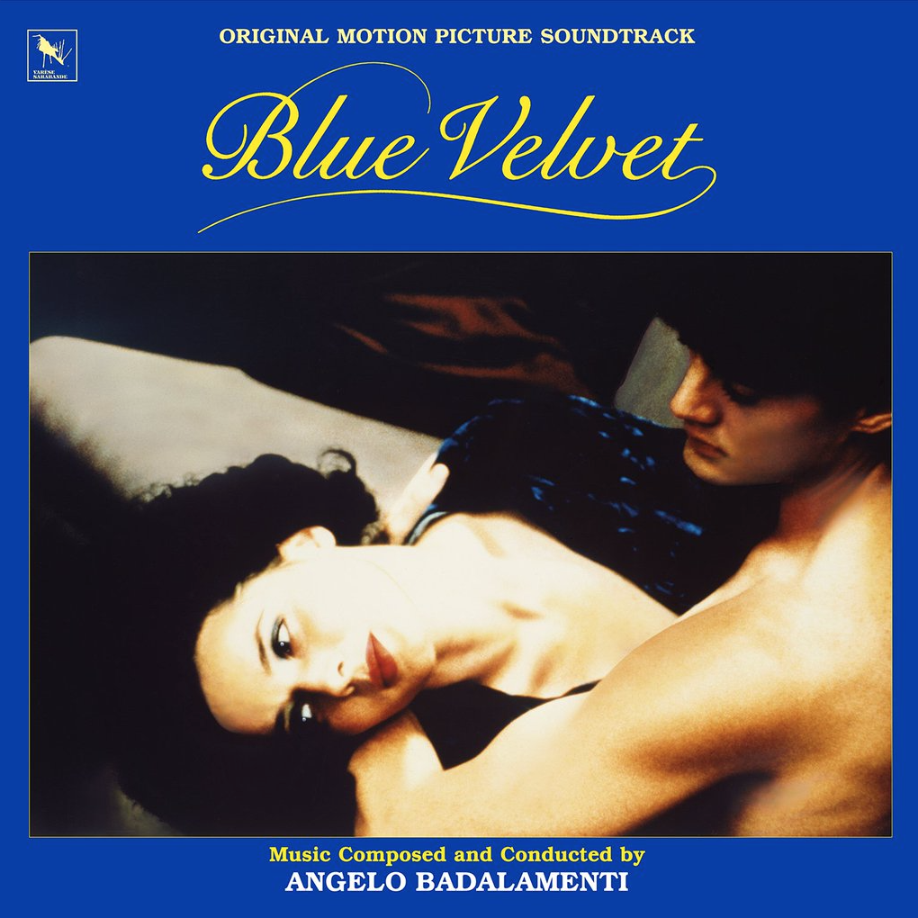Angelo Badalamenti - Blue Velvet: Original Motion Picture Soundtrack LP