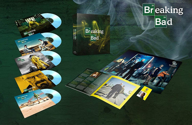 "Various Artists -  Breaking Bad 5X10"" vinyl."