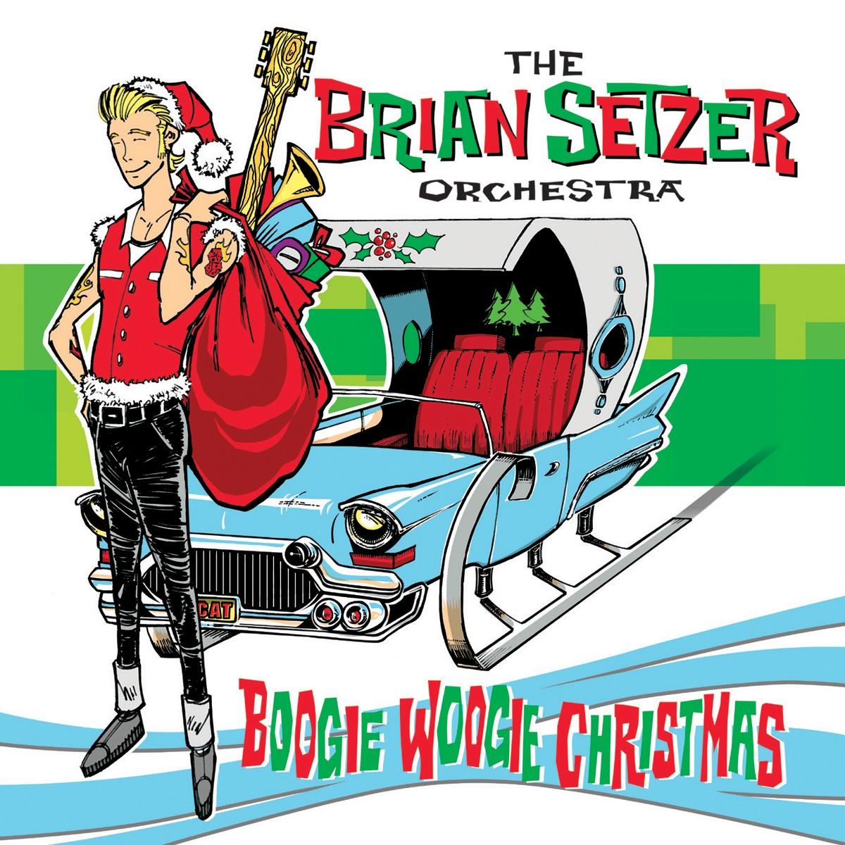 Brian Setzer Orchestra - Boogie Woogie Christmas Vinyl LP