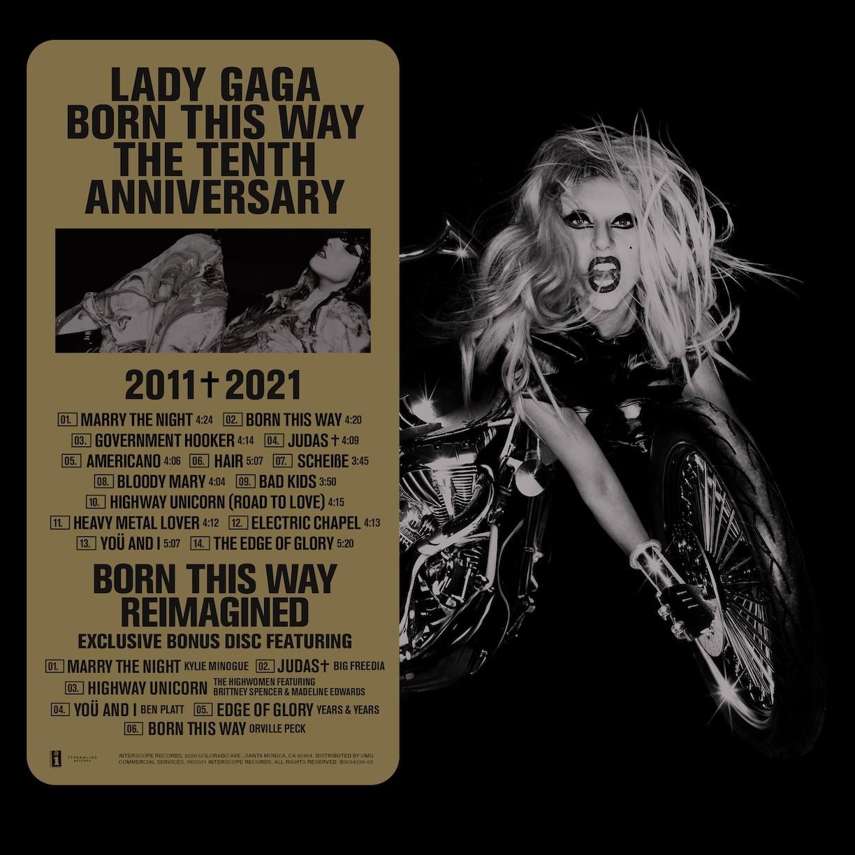 Lady Gaga - BORN THIS WAY THE TENTH ANNIVERSARY [3 LP]