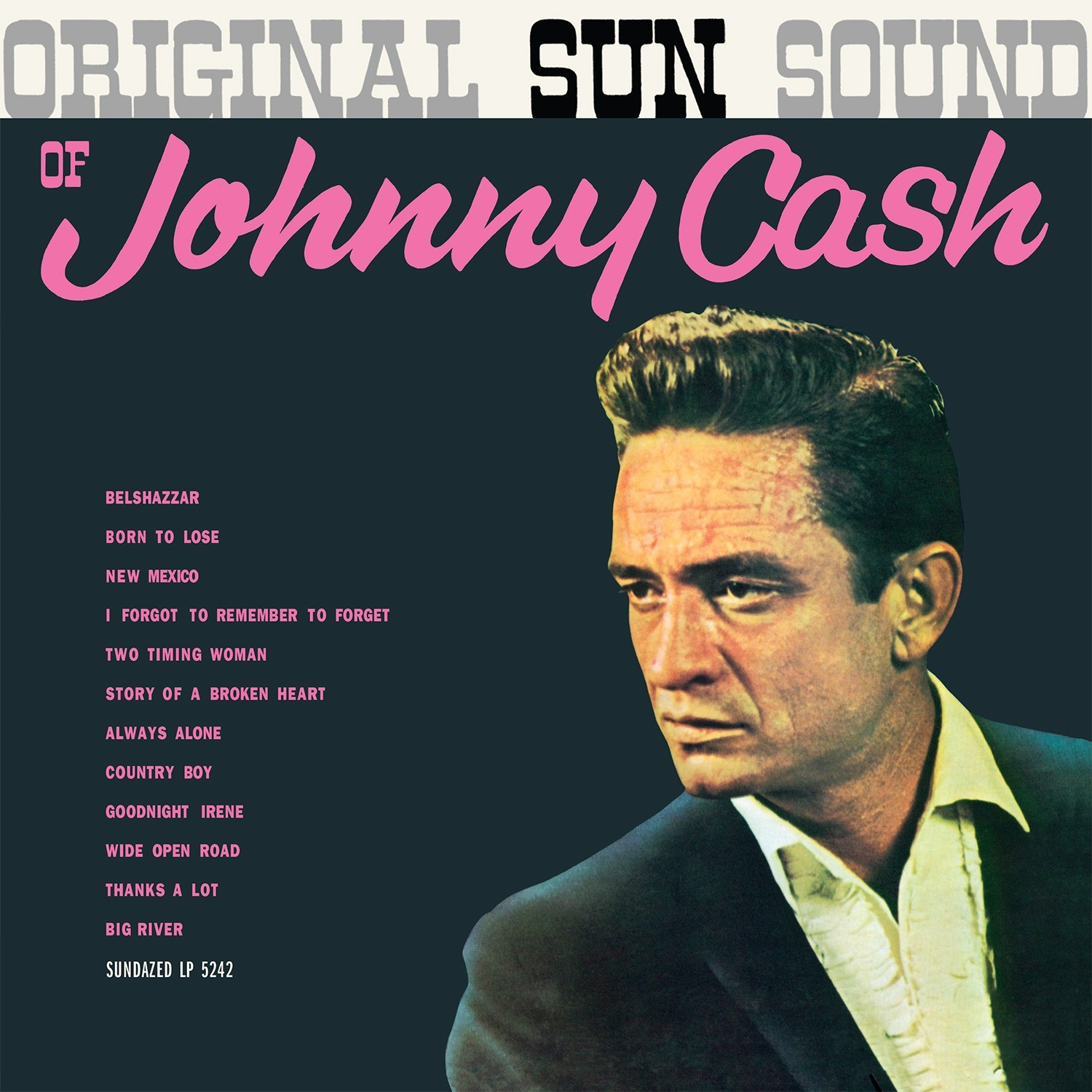 Johnny Cash - The Original Sun Sound Of Johnny Cash LP
