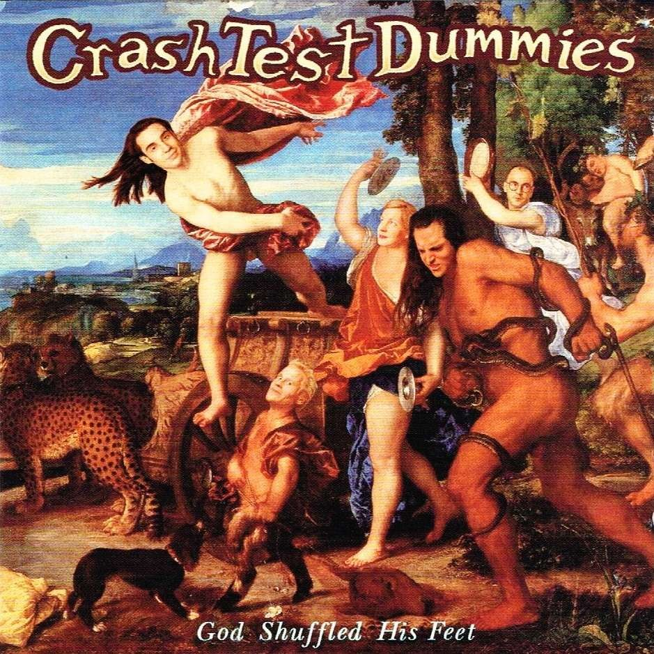 Crash Test Dummies - God Shuffled His Feet (Orange) Vinyl LP