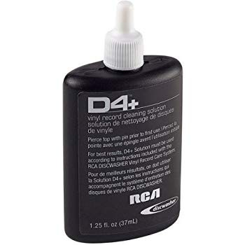 Discwasher - 1.25 Oz D4 Record Cleaner