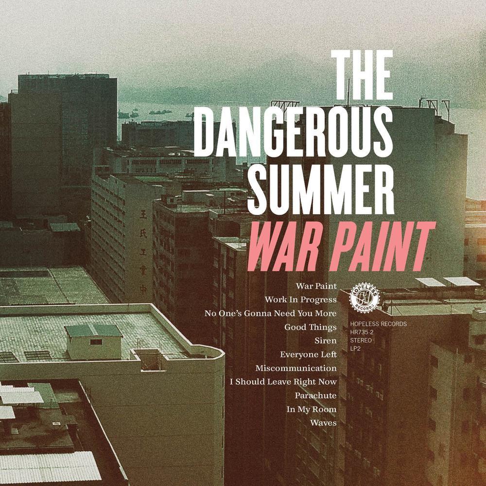 The Dangerous Summer - War Paint LP