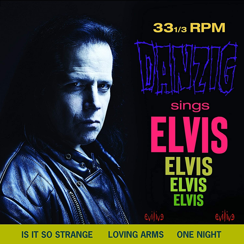 Glenn Danzig - Sings Elvis (Blue) Vinyl LP
